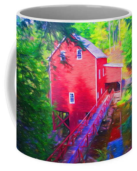 Northumberland Coffee Mug featuring the photograph Balmoral Grist Mill Museum by Ginger Wakem