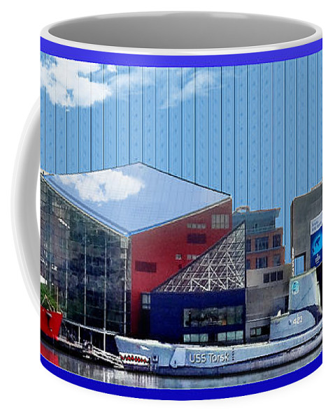 Baltimore Harbor Coffee Mug featuring the photograph Baltimore Harbor by Martin Brockhaus