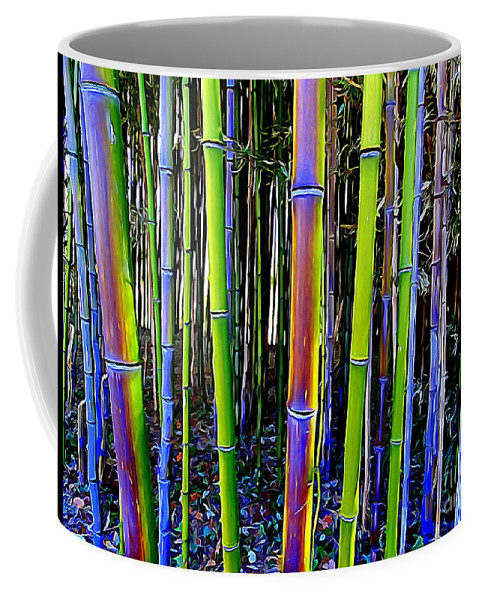 Digital Coffee Mug featuring the photograph Bamboo Dreams #13 by Ed Weidman