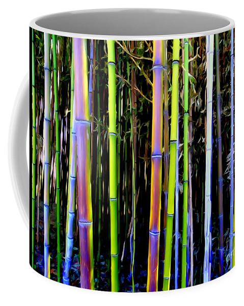 Digital Art Coffee Mug featuring the photograph Bamboo Dreams #14 by Ed Weidman