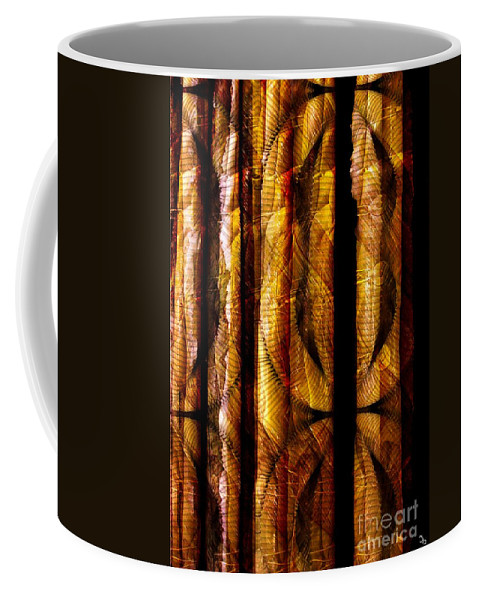 Bamboo Coffee Mug featuring the digital art Bamboo by Ron Bissett