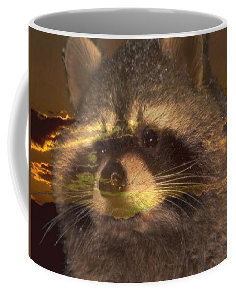 Sunset Coffee Mug featuring the photograph Bandit Sunset by Tim Allen