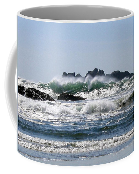 Bandon Coffee Mug featuring the photograph Bandon 20 by Will Borden
