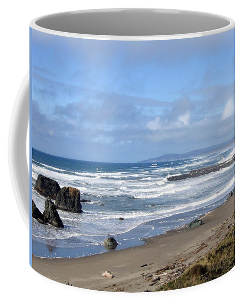 Bandon Coffee Mug featuring the photograph Bandon 21 by Will Borden