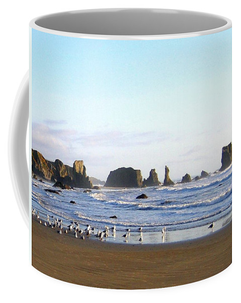 Seascape Coffee Mug featuring the photograph Bandon 36 by Will Borden