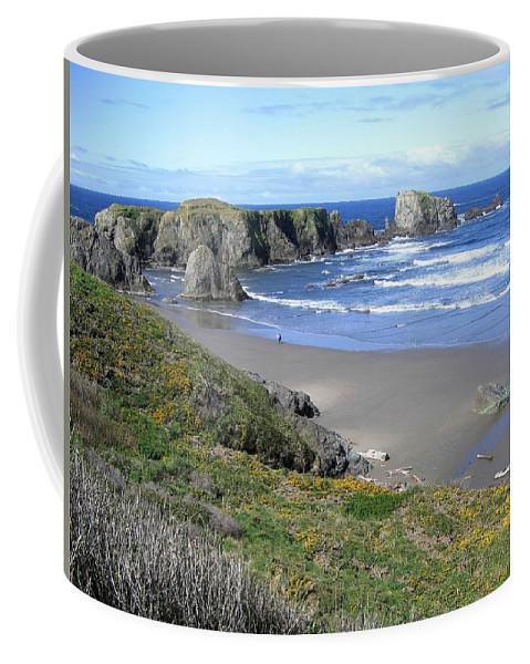Bandon Coffee Mug featuring the photograph Bandon 8 by Will Borden