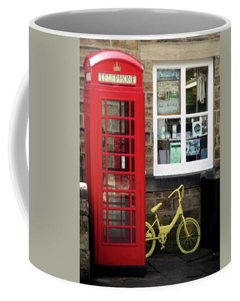 Bradford Coffee Mug featuring the photograph Barb Barb by Jez C Self