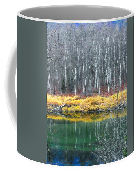Trees Coffee Mug featuring the photograph Baring Their Souls by Tara Turner
