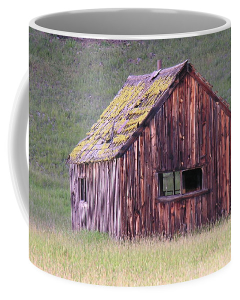 Barn Coffee Mug featuring the photograph Barm by Diane Greco-Lesser