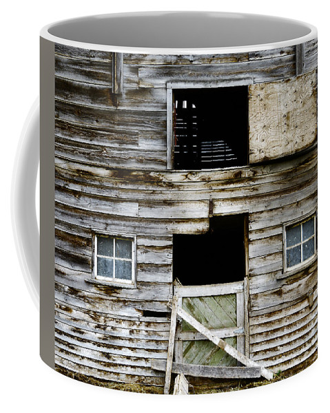 Barn Coffee Mug featuring the photograph Barn Side by Wayne Sherriff