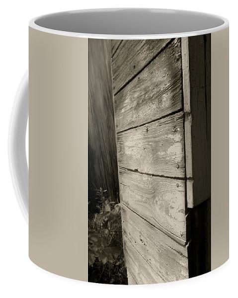 Old Wood Coffee Mug featuring the photograph Barn Wood by Sven Brogren