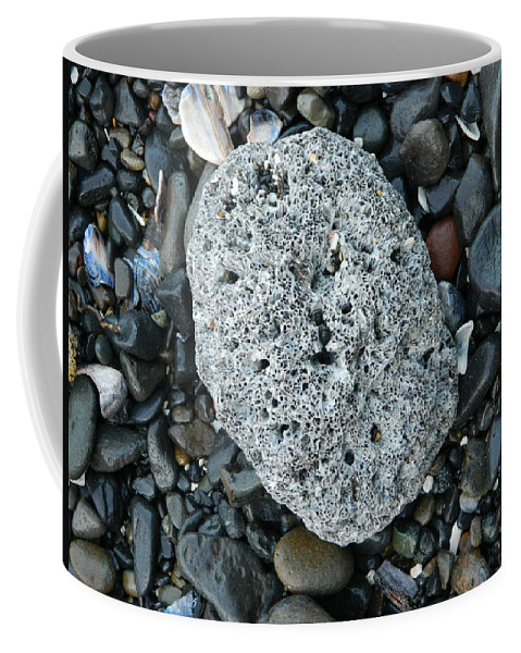 Barnacle Coffee Mug featuring the photograph Barnacle Rock by Gallery Of Hope