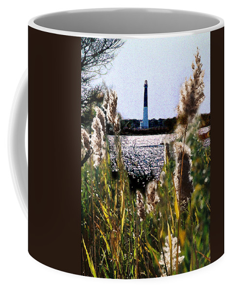 Barnegat Coffee Mug featuring the digital art Barnegat Bay by Steve Karol