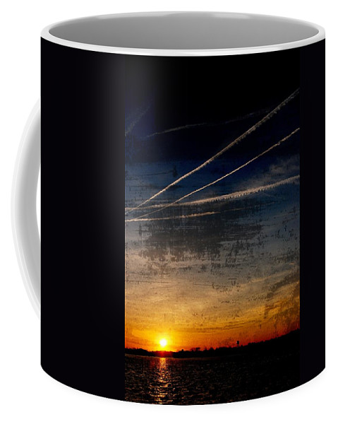 Jersey Shore Coffee Mug featuring the photograph Barnegat Bay Sunset - Jersey Shore by Angie Tirado