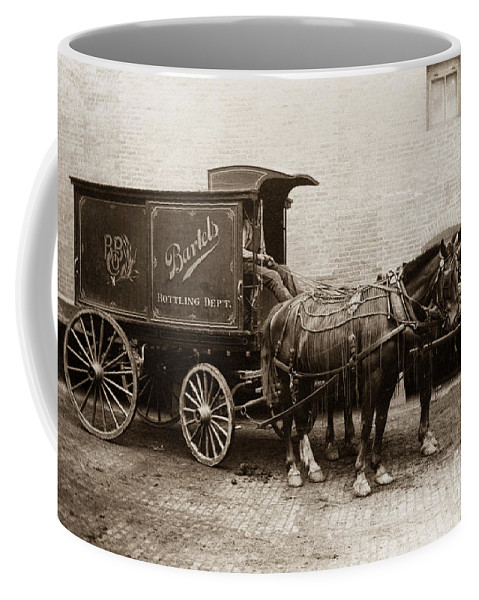 Beer Coffee Mug featuring the photograph Bartel's Brewery Edwardsville Pennsylvania... by Arthur Miller