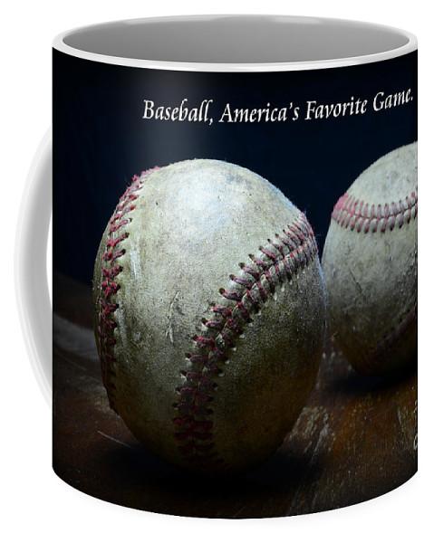 Paul Ward Coffee Mug featuring the photograph Baseball Americas Favorite Game by Paul Ward