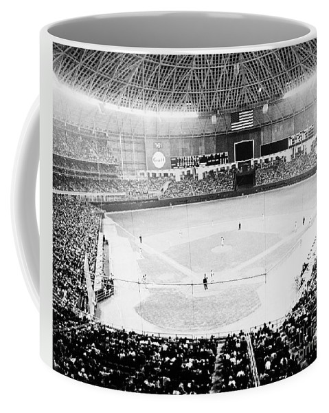1965 Coffee Mug featuring the photograph Baseball: Astrodome, 1965 by Granger