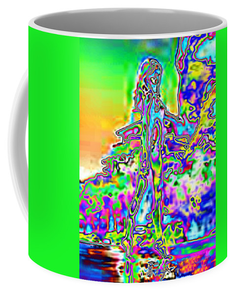 Bather Coffee Mug featuring the photograph Bathing Beauty by Tim Allen
