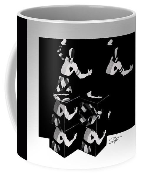 Dance Coffee Mug featuring the photograph Bauhause Ballet by Charles Stuart