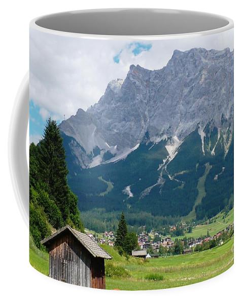 Landscape Coffee Mug featuring the photograph Bavarian Alps Landscape by Carol Groenen