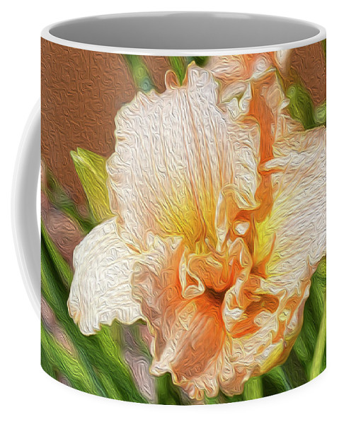 Floral Coffee Mug featuring the photograph Be At Peace by Tracie Fernandez