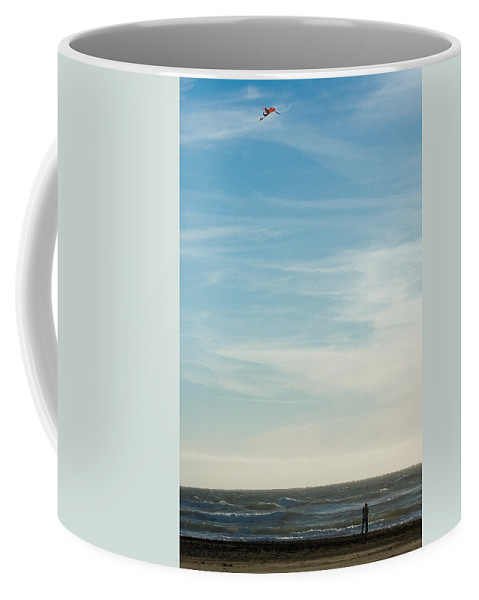 Nature Coffee Mug featuring the photograph Beach Day by John K Sampson