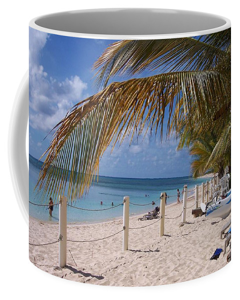 Beach Coffee Mug featuring the photograph Beach Grand Turk by Debbi Granruth