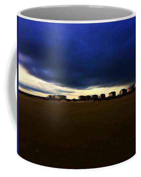 Beach Coffee Mug featuring the photograph Beach Houses by Bryce Clark