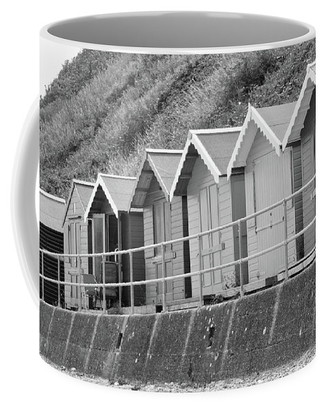 Beach Huts Coffee Mug featuring the photograph Beach Huts by Ed James
