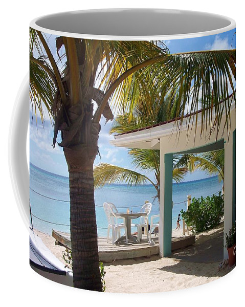 Beach Coffee Mug featuring the photograph Beach In Grand Turk by Debbi Granruth