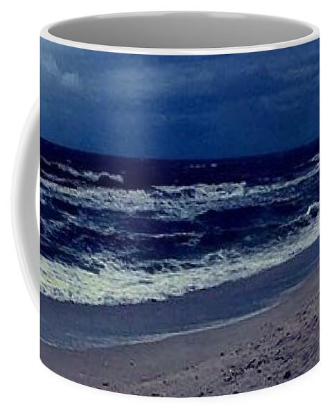 Coffee Mug featuring the photograph Beach by Kristina Lebron