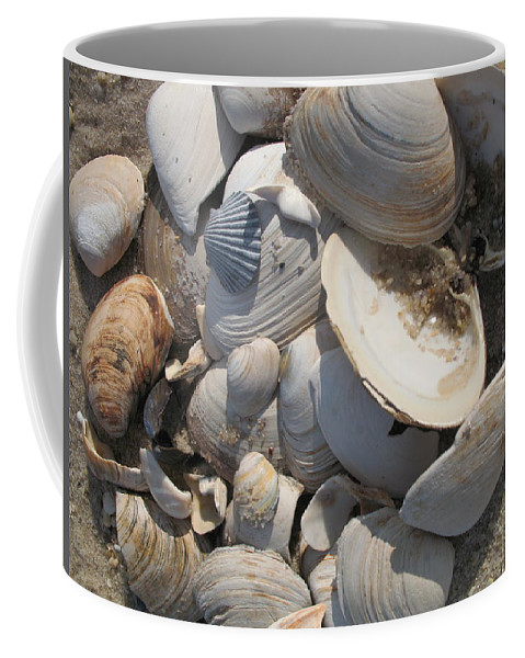 Beach Coffee Mug featuring the photograph Beach Still Life IIi by Christiane Schulze Art And Photography