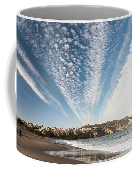 Beach Coffee Mug featuring the photograph Beach by Wim Slootweg