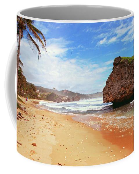 Beach Coffee Mug featuring the photograph Beach Wonders by Gary Wonning