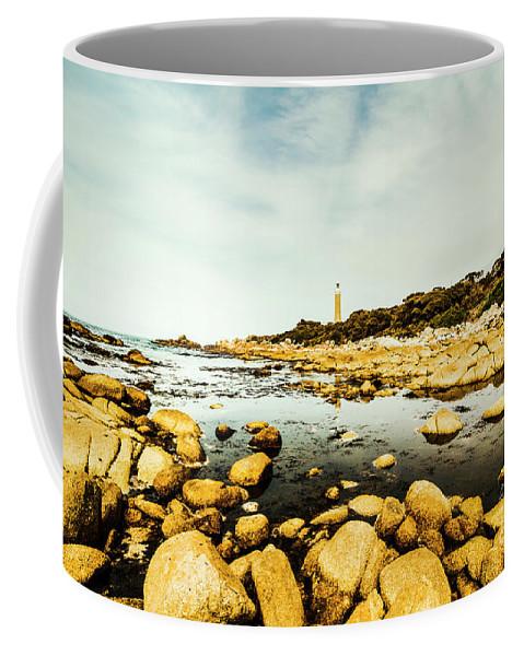 Coastal Coffee Mug featuring the photograph Beacon Beach by Jorgo Photography - Wall Art Gallery