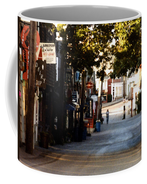 Rockport Coffee Mug featuring the painting Bearskin Neck by Paul Sachtleben