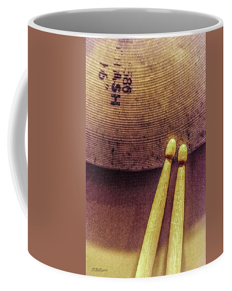 Music Coffee Mug featuring the photograph Beat In Time by Pamela Williams