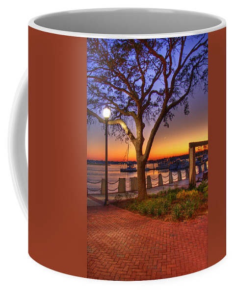 Park Coffee Mug featuring the photograph Beaufort Waterfront by Ches Black