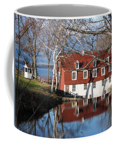 Quebec Coffee Mug featuring the photograph Beaumont Quebec Canada by Mary Ellen Mueller Legault
