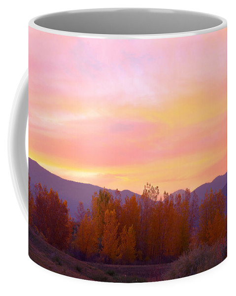 Sunsets Coffee Mug featuring the photograph Beautiful Autumn Sunset by James BO Insogna