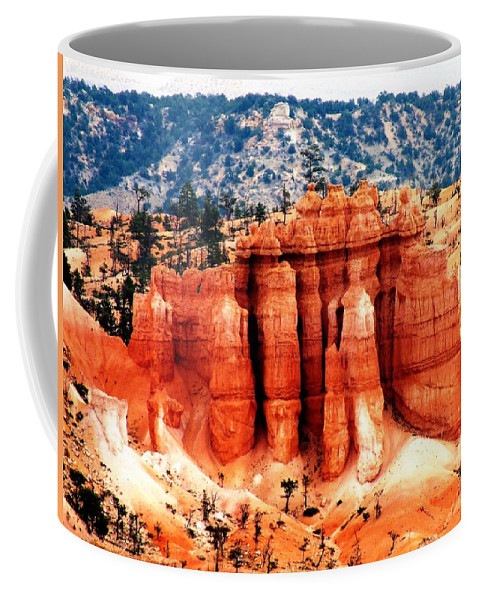 National Parks Coffee Mug featuring the photograph Beautiful Bryce by Judy Nelson