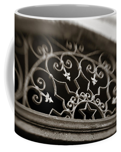 Beautiful Coffee Mug featuring the photograph Beautiful Door Decoration by Marilyn Hunt
