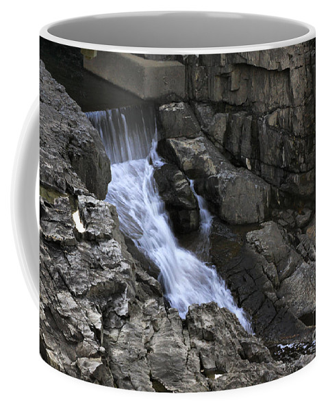 Water Coffee Mug featuring the photograph Beautiful Flow Of Power by Deborah Benoit