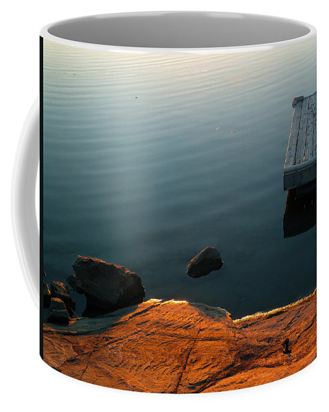 Cottage Coffee Mug featuring the photograph Beautiful Sunday by Claire Bull