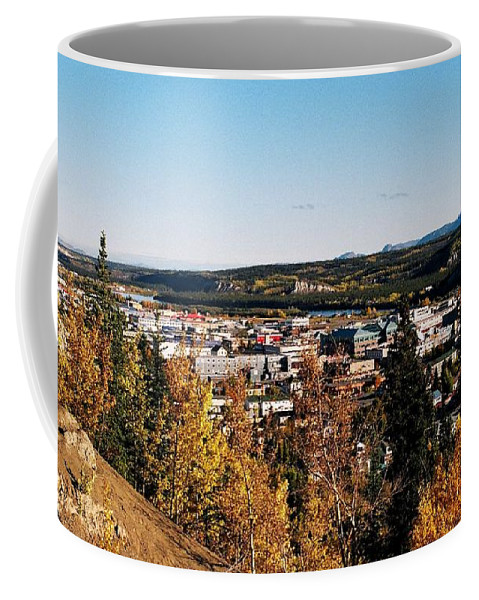 North America Coffee Mug featuring the photograph Beautiful Whitehorse ... by Juergen Weiss