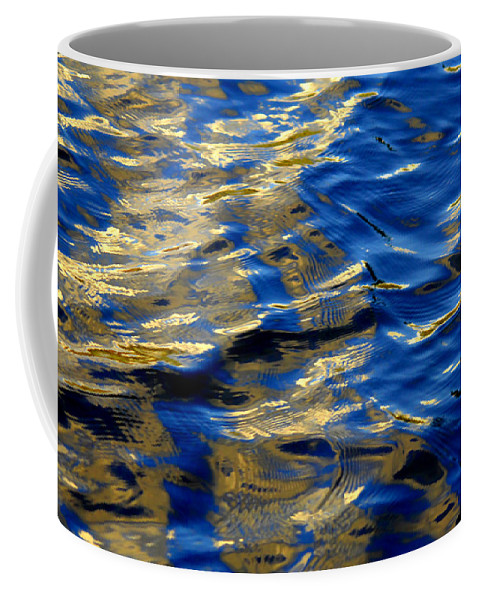 Water Coffee Mug featuring the photograph Beauty And The Beast by Donna Blackhall