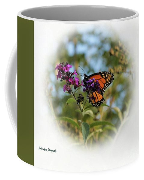 Butterfly Coffee Mug featuring the photograph Beauty In God's Handiwork 2 by Robin Ayers