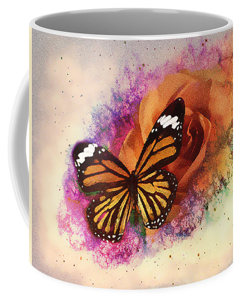 Insect Coffee Mug featuring the photograph Beauty Of Nature #2 by Derron Ridley