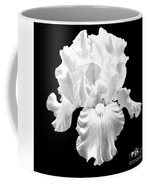 Photo Coffee Mug featuring the photograph Beauty Queen In Black And White by Marsha Heiken