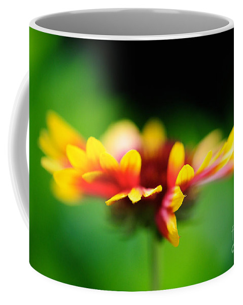 Floral Coffee Mug featuring the photograph Beckoning by Lois Bryan